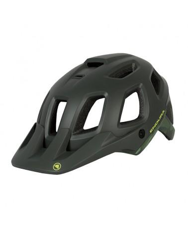 Endura SingleTrack Helmet II Casco MTB, Khaki