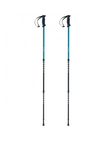 Ferrino GTA Trekking Poles, Blue (Pair)