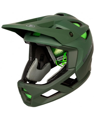 Endura MT500 Full Face Helmet MTB, Forest Green