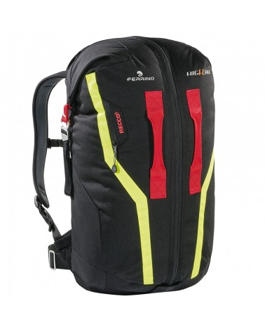 Ferrino Guardian 50 Liters First Aid Mountaineering Backpack, Black