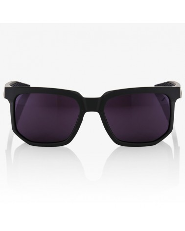 100% Occhiali Centric Soft Tact Midnight Mauve - Purple + Lente Clear
