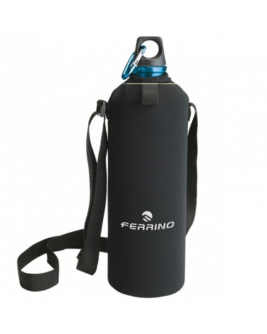 Ferrino Drink 0,75 Liters Water Bottle + Cover and Shoulder Strap