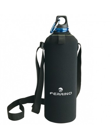 Ferrino Neo Drink 1 Liter Water Bottle + Cover and Shoulder Strap