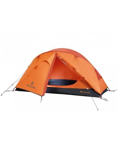 Ferrino Solo FR Camping One Person Tent, Orange
