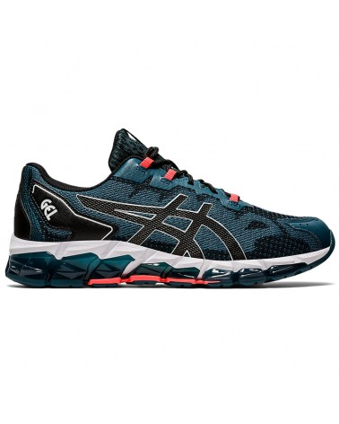 Asics Gel-Quantum 360 6 Men's Running Shoes, Magnetic Blue/Black