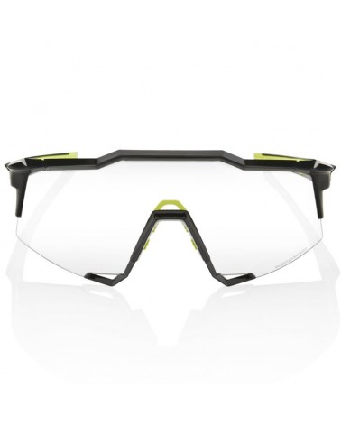 100% SpeedCraft Glasses Gloss Black - Photochromic Lens