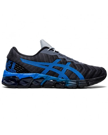 Asics Gel-Quantum 180 5 Men's Running Shoes, Carrier Grey/Electric Blue