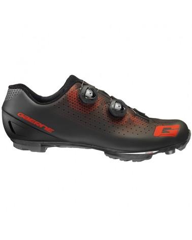 Gaerne Carbon G. Kobra Men's MTB Cycling Shoes, Black/Red