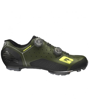 Gaerne Carbon G. Sincro Men's MTB Cycling Shoes, Forest Green