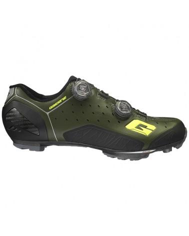 Gaerne Carbon G. Sincro Scarpe MTB Ciclismo, Verde