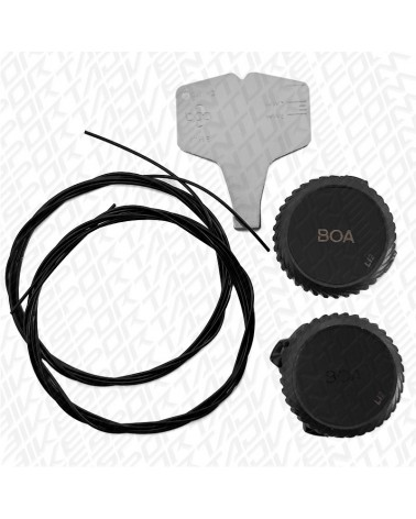 Gaerne Li2 Boa Kit, Black