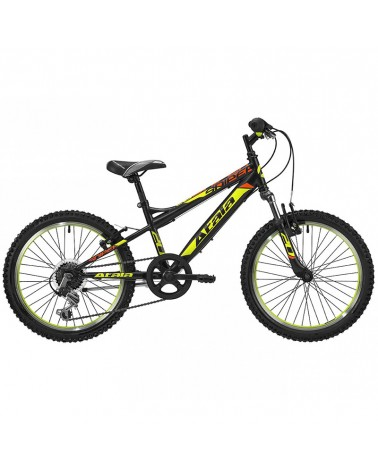 "Atala Sniper 6V 20"" - 6V, Black/Neon Yellow Matt"