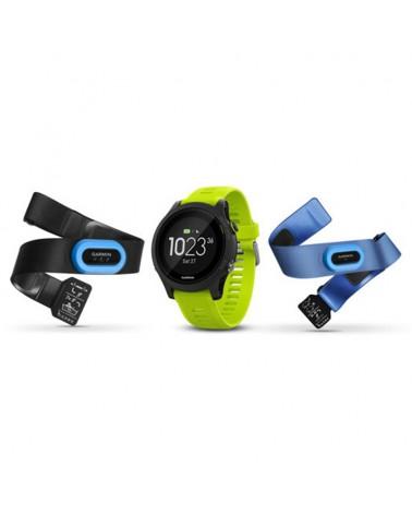 Garmin Forerunner 935 Tri Bundle GPS Smartwatch Wrist-Based HR, Black/Yellow
