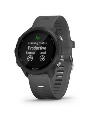 Garmin Forerunner 245 Orologio Running GPS Cardio Integrato, Nero/Grigio