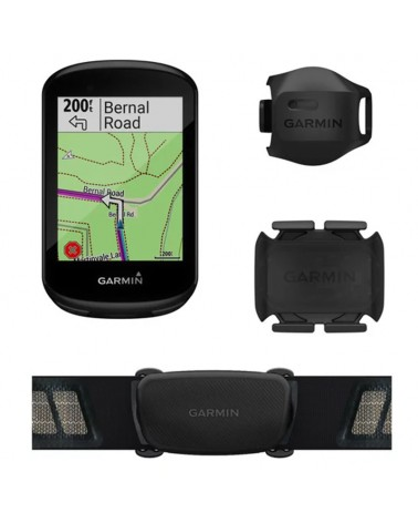 Garmin Edge 830 Touchscreen GPS Bike Computer Bundle con Sensori