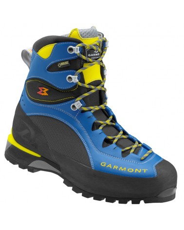 Garmont Tower LX GTX Gore-Tex Men's Alpine Trekking Boots, Blue/Yellow