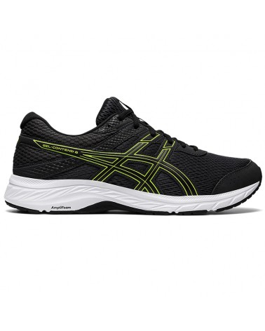 Asics Gel-Contend 6 Men's Running Shoes, Graphite Grey/Lime Zest