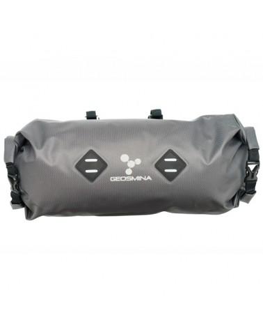 Geosmina Soft Good Handlebar Bag 10 Liters, Grey