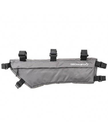 Geosmina Soft Good Small Frame Bag 2,5 Liters, Grey