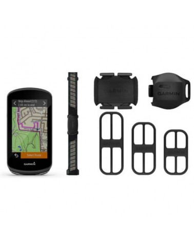 Garmin Edge 1030 Plus GPS Bike Computer Bundle con Sensori e Staffe