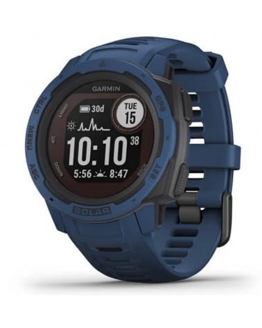 Garmin Instinct Solar Wrist-Based HR GPS Smartwatch, Tidal Blue
