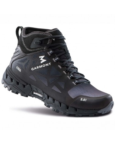 Garmont 9.81 N-AIR-G S MID GTX Gore-Tex Surround Scarponi Uomo, Nero