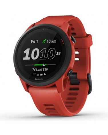 Garmin Forerunner 745 Wrist-Based HR GPS Running/Triathlon Sportwatch, Flame Red