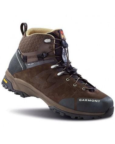 Garmont G-Trail Nabuk GTX Gore-Tex Men's Trekking Boots, Dark Brown