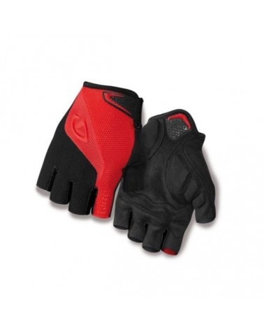 Giro Guanti Estivi Bravo SF Gel, Red/Black