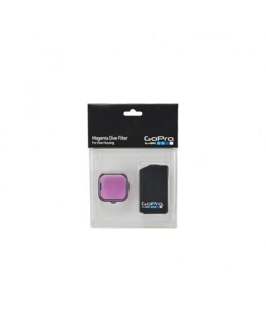 Gopro Magenta Dive Filter For Dive Housing - Filtro Colorato Magenta Per Case Dive New