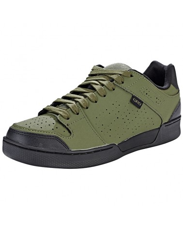 Giro Jacket II Men's MTB Cycling Shoes, Olive/Black