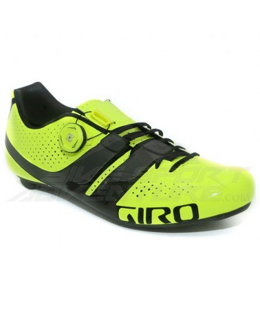 Giro Scarpe Road Factor Techlace, High Yellow/Black