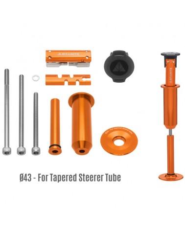 Granite Stash - Tool Kit W/42mm Bottom Cap, Orange (Tapered)