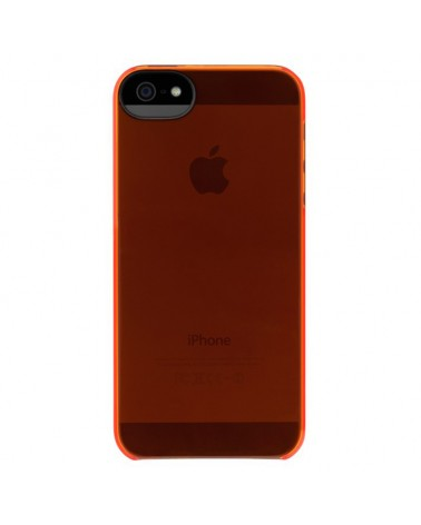 Incase Custodia Snap Case iPhone 5 5S  Red Orange Trasparente Opaco