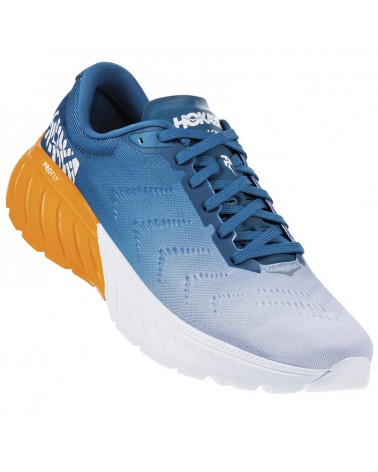 Hoka One One Mach 2 Scarpe Running Uomo, Corsair Blue/Bright Marigold