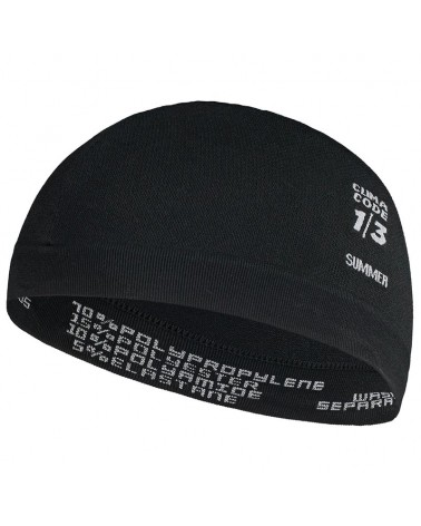 Assos Robo Foil G2 Cycling Skullcap, Black Series
