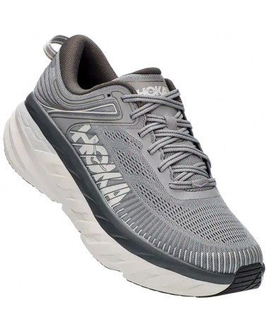 Hoka One One Bondi 7 Scarpe Running Uomo, Wild Dove/Dark Shadow