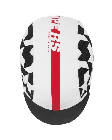 Assos Equipe RS Summer Cycling Cap, National Red (One Size Fits All)