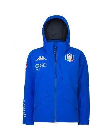 Kappa 6Cento 611 FISI Men's Ski Jacket, Blue/Blue Night