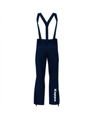 Kappa 6Cento 622 HZ FISI Men's Ski Pant, Blue Night/Blue Night