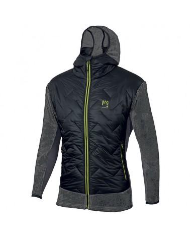 Karpos Scoiattoli Men's Jacket, Black/Dark Grey