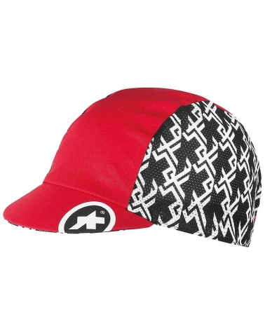 Assos GT Cap Cappello Ciclismo, National Red (Taglia Unica)