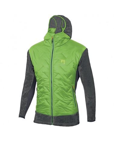 Karpos Scoiattoli Men's Jacket, Apple Green/Dark Grey
