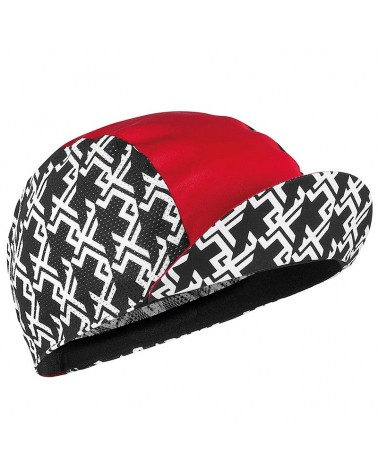 Assos GT Cycling Cap, National Red (One Size Fits All)