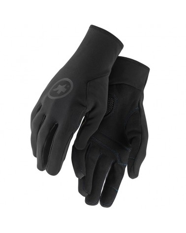 Assos Winter Gloves Guanti Invernali Ciclismo, Black Series