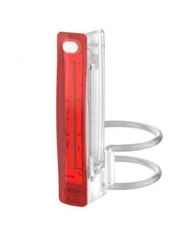 Knog. Plus Rear Bike Light 20 Lumes USB, White