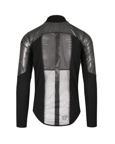 Assos Equipe RS Clima Capsule Packable Cycling Men's Jacket, Black Series