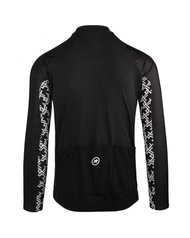 Assos Mille GT Spring/Fall Maglia Maniche Lunghe Uomo Full Zip, Black Series