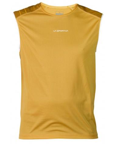 La Sportiva Maglia Smanicata Peak Tank, Yellow/Nugget