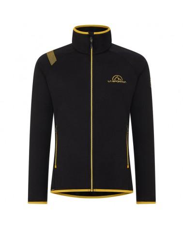 La Sportiva Promo Fleece Man, Black/Yellow